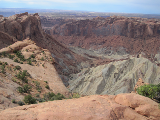 Upheaval Dome, Colorado Plateau, July, 2011